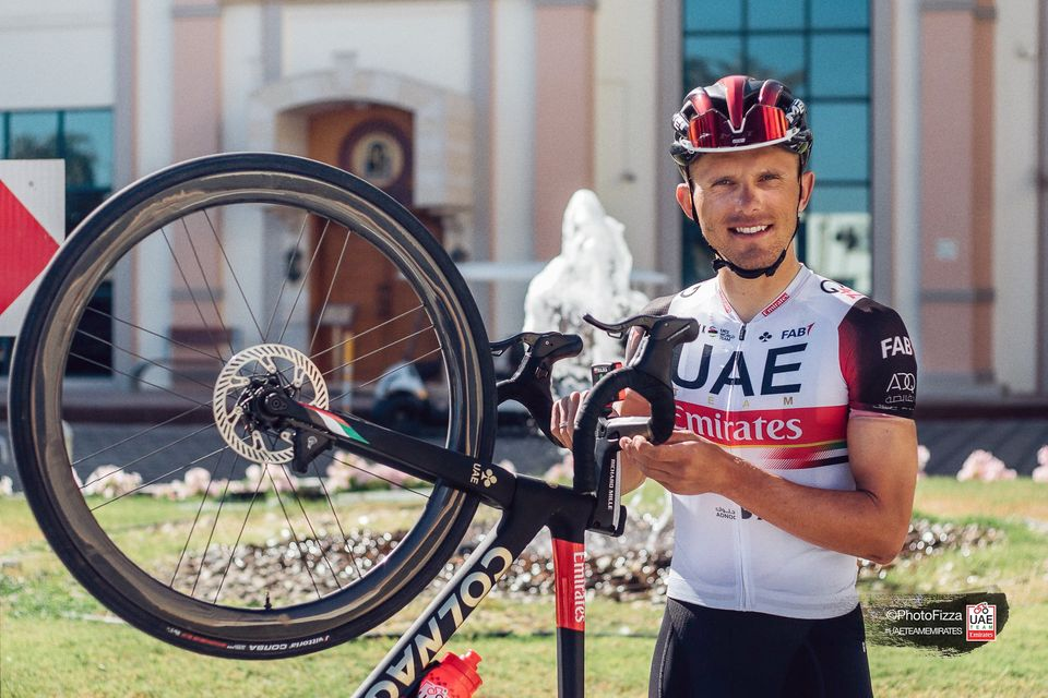 Rafał Majka w UAE Team Emirates